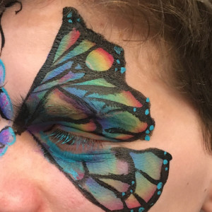 Triangle Face Painting - Face Painter in Raleigh, North Carolina
