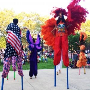 Tropicalfete's Stilting Unit - Stilt Walker / Caribbean/Island Music in New York City, New York