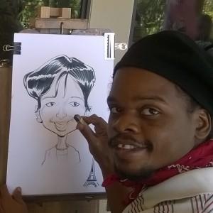 Jer'Animé - Caricaturist / Temporary Tattoo Artist in Houston, Texas