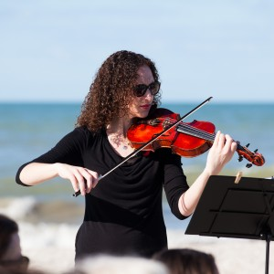 Valeria Frege violinist