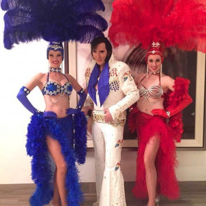 Vegas Elvis Impersonators And Showgirls - Elvis Impersonator / Singing Telegram in Las Vegas, Nevada