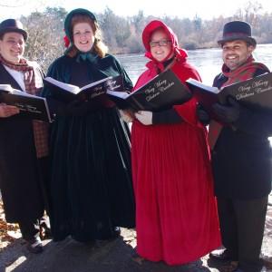 Very Merry Dickens Carolers & Christmas Present Carolers - Christmas Carolers in Cumberland, Rhode Island