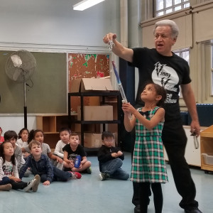 Vinny Voltage  Science Show - Science Party in Flushing, New York