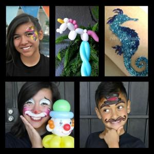 Vivid Face Art - Face Painter / Balloon Twister in Modesto, California