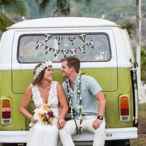 VW Bus Rental - Party Decor in Honolulu, Hawaii