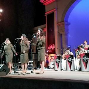 Wartime Radio Revue Singers - 1940s Era Entertainment in Los Angeles, California
