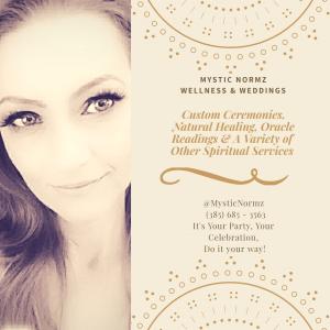 Mystic Normz - Wedding Officiant in Bountiful, Utah
