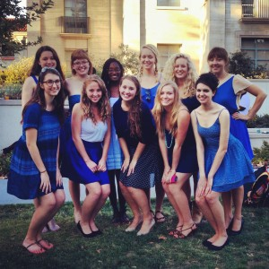 Women's Blue and White - A Cappella Group in Claremont, California