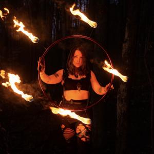 Wondering Alice - Fire Dancer in Woodstock, Georgia