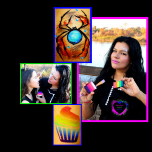 Passion Heart - Face Painter in San Diego, California