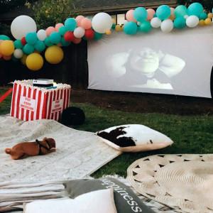 Xtreme AV Movie Night Projector Rentals - Outdoor Movie Screens in San Jose, California
