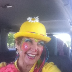Yaya the clown and friends - Face Painter in Miami, Florida