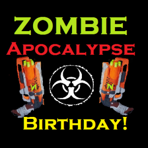 Zombie Apocalypse Birthday Party - Mobile Game Activities in Mission Viejo, California