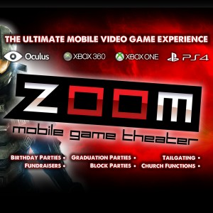 ZOOM Mobile Game Theater - Mobile Game Activities in Shawnee, Kansas